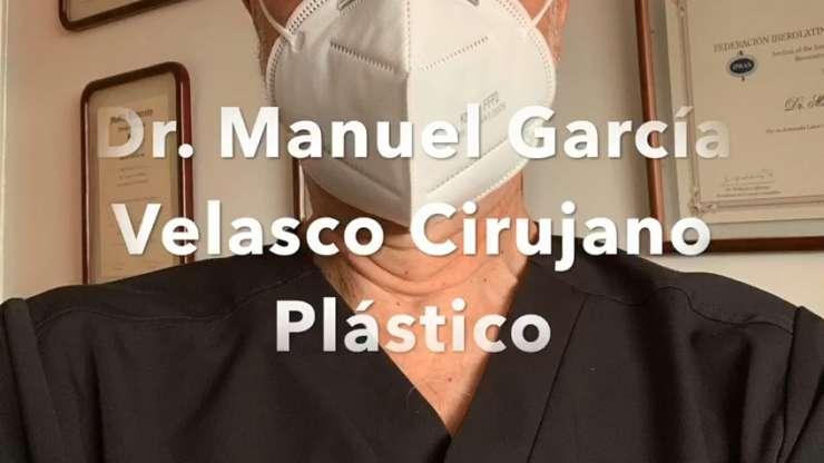 Dr. Manuel Garcia Velasco – Con Nosotros le atenderemos con seguridad y máxima calidad